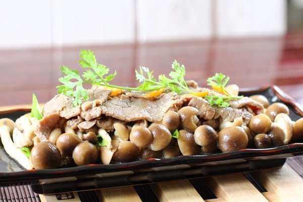 Cách chế biến nấm linh chi thành món ăn bổ dưỡng -  cách chế biến nấm linh chi thành món ăn bổ dưỡng - nam linh chi xao thit bo la mieng
