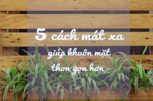 5 cách massage giúp gương mặt bạn thon gọn hơn -   - 5 c  ch massage gi  p g    ng m   t b   n thon g   n h  n bichkhoa 310x205
