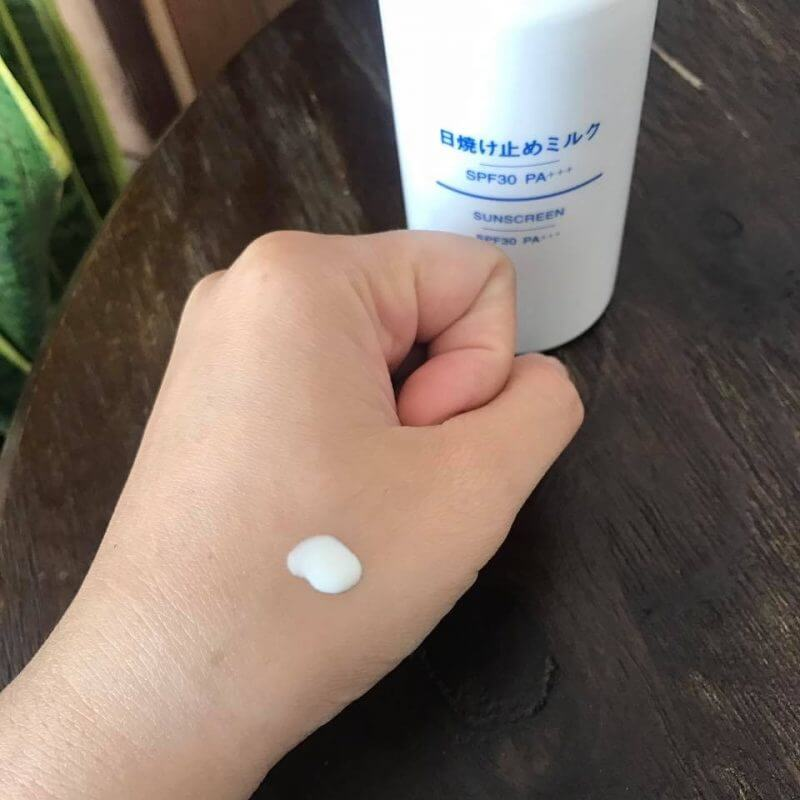 Hiệu quả khi sử dụng kem chống nắng Muji