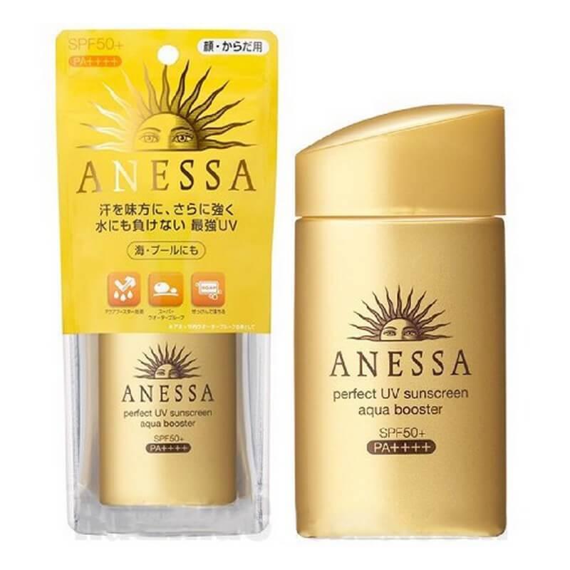 Thành phần tự nhiên của kem chống nắng Anessa