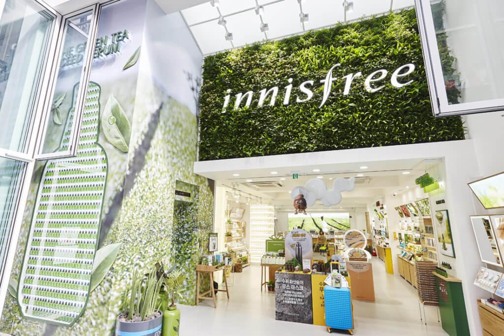 Thương hiệu mỹ phẩm thiên nhiên Innisfree