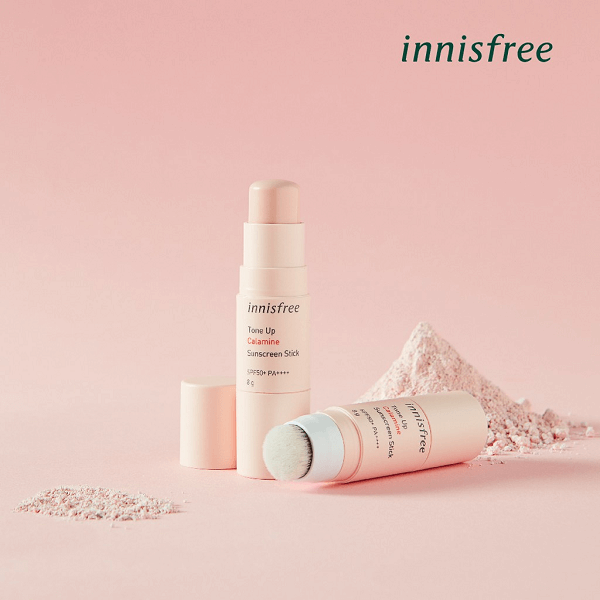 Kem chống nắng Innisfree Tone Up Calamine Sunscreen Stick SPF50+ PA++++