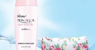 Kem chống nắng Skin Aqua Silky White Gel