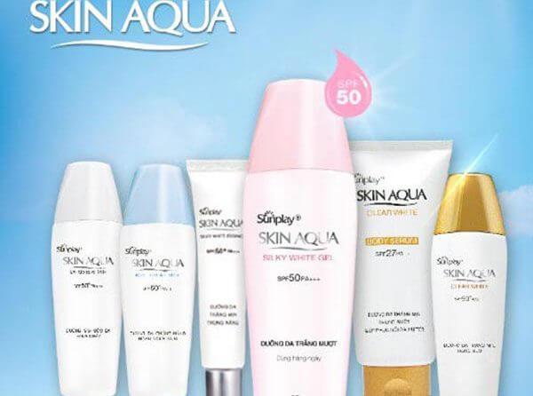 Thương hiệu kem chống nắng Skin Aqua