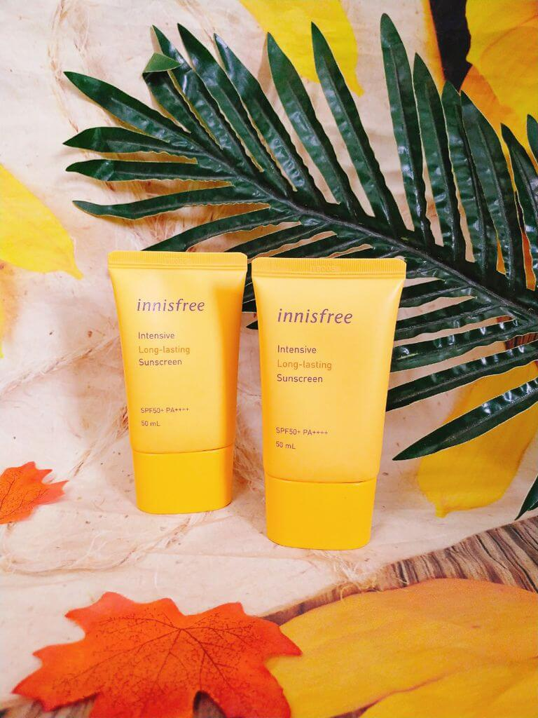 kem chống nắng Innisfree Intensive Long-Lasting Sunscreen SPF50+/PA++++