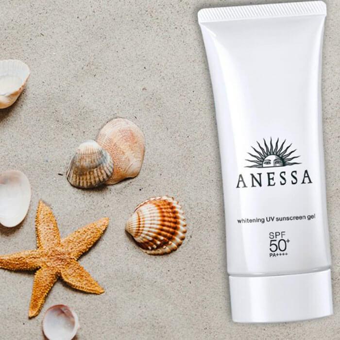 Kem chống nắng Anessa Whitening UV Sunscreen gel