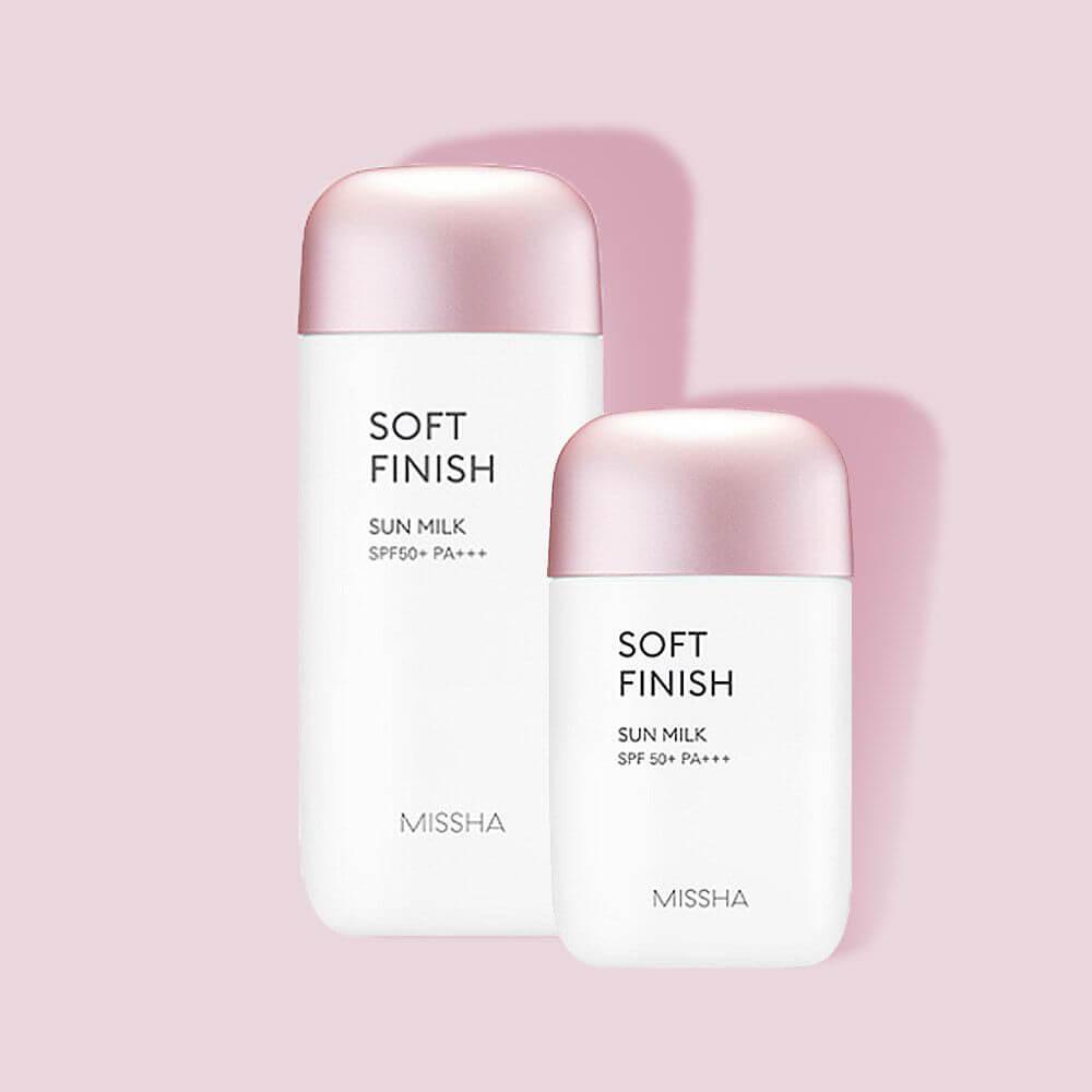 Kem chống nắng Missha All-Around Safe Block Soft Finish Sun Milk