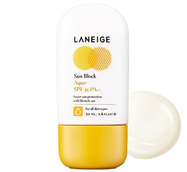 Kem Laneige Sun Block Aqua